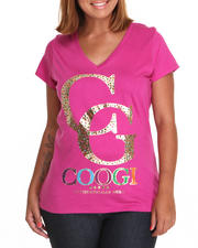 Black Friday Shop - Women - V-Neck Tee w/graphic (plus)