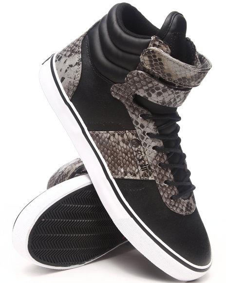 Radii Footwear - Men Black Heritage Mid Sneakers