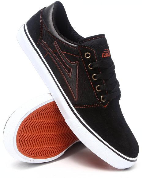 Lakai Black Brea Black Suede Sneakers
