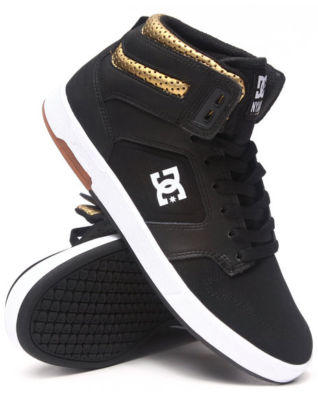 DC Shoes Gold Nyjah High Sneakers