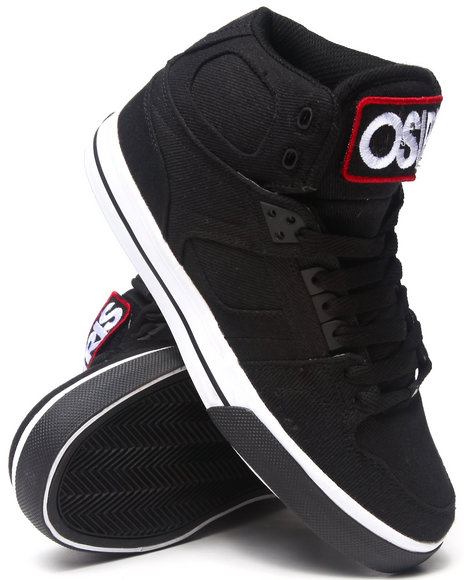 Osiris Black,White Nyc83 Vlc Patch Sneakers