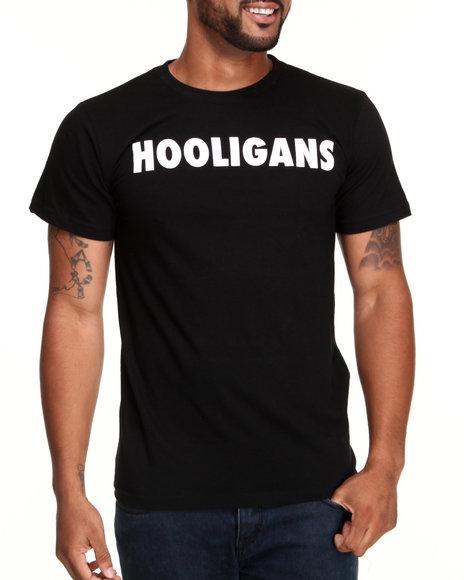 Graf-X Gallery - Men Black Street Approved Hooligans Tee - $14.99