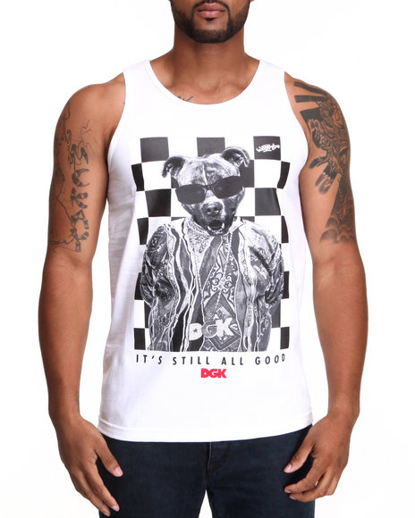 DGK White All Good Tank