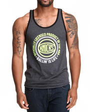 NBA, MLB, NFL Gear - New York Knicks Old School Neon Tank Top (Drjays.com Exclusive)
