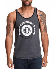 Men - Brooklyn Nets Old School Tank Top (Drjays.com Exclusive)