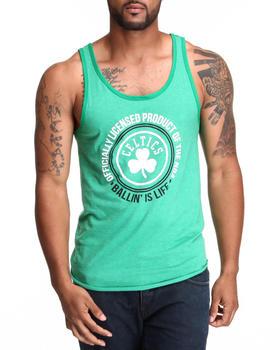 NBA, MLB, NFL Gear - Boston Celtics Old School Tank Top (Drjays.com Exclusive)