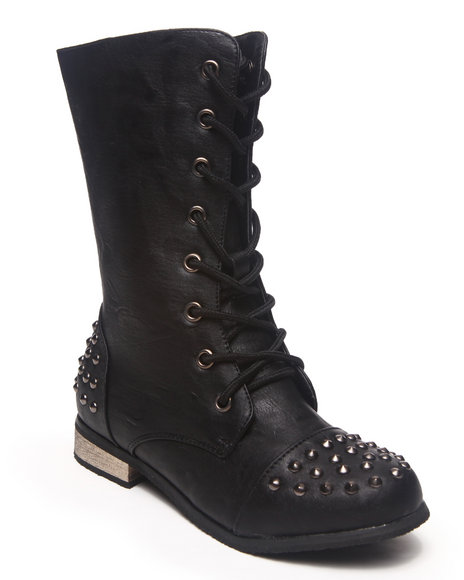 La Galleria Girls Black Abby Boot (11-4)