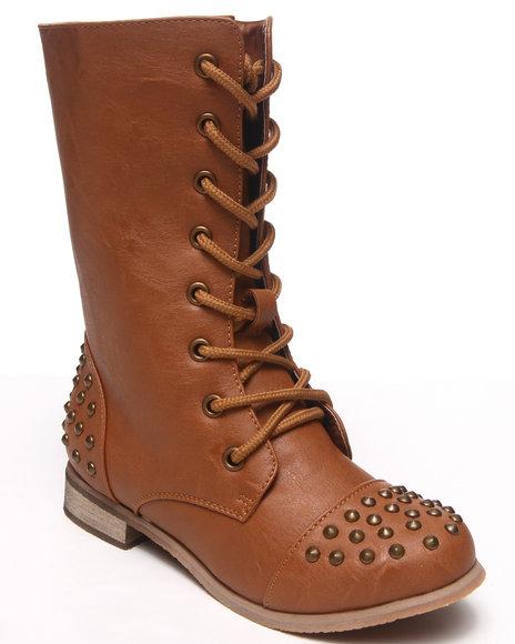 La Galleria Girls Tan Abby Boot (11-4)