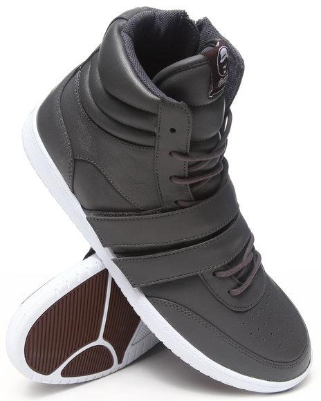 Radii Footwear - Men Charcoal Cufflinks Sneakers