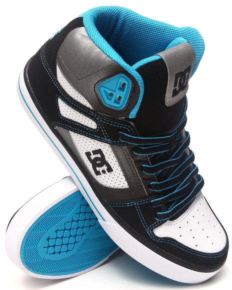 Dc Shoes Men Spartan Hi Se Sneakers Black 10