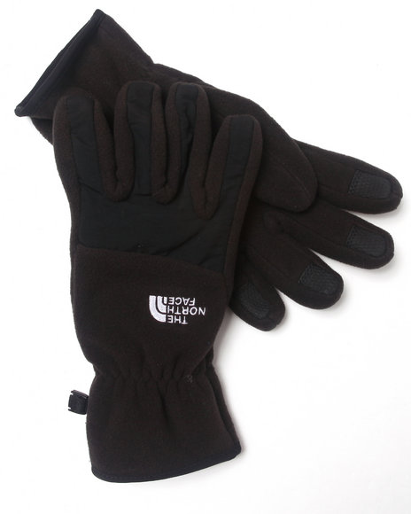 The North Face Black Denali Gloves