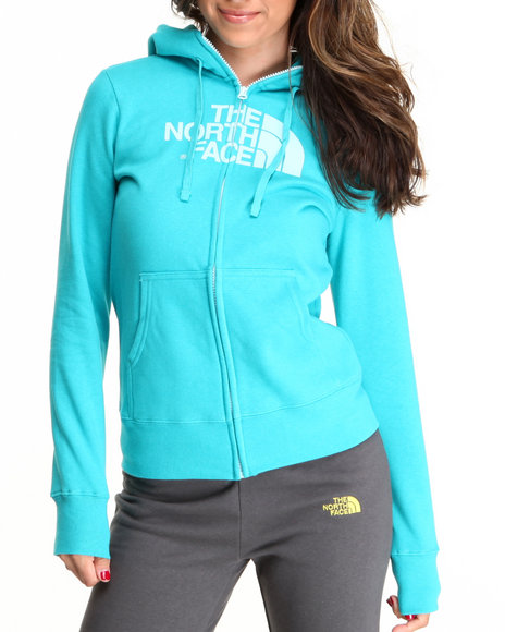 The North Face Blue Half Dome Full Zip Hoodie