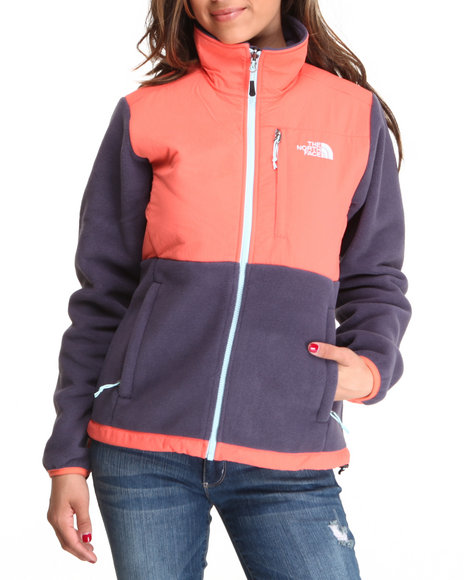 The North Face Orange Denali Jacket