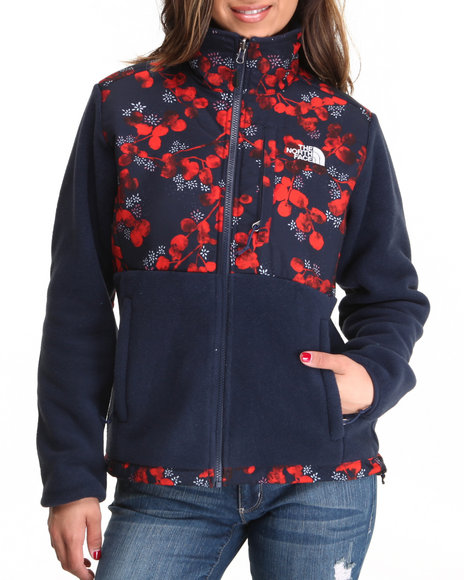 The North Face Blue Denali Jacket