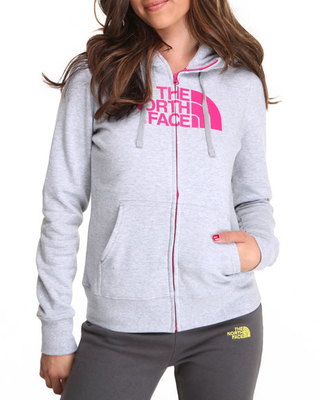 The North Face Grey Half Dome Full Zip Hoodie