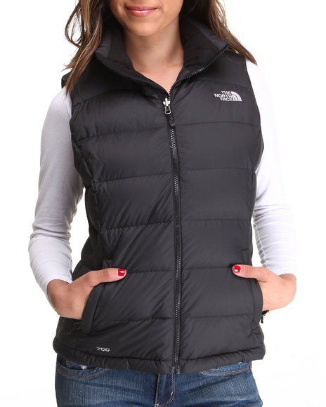 The North Face - Women Black Nuptse 2 Vest