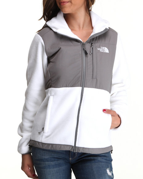 The North Face White Oso Denali Hoodie