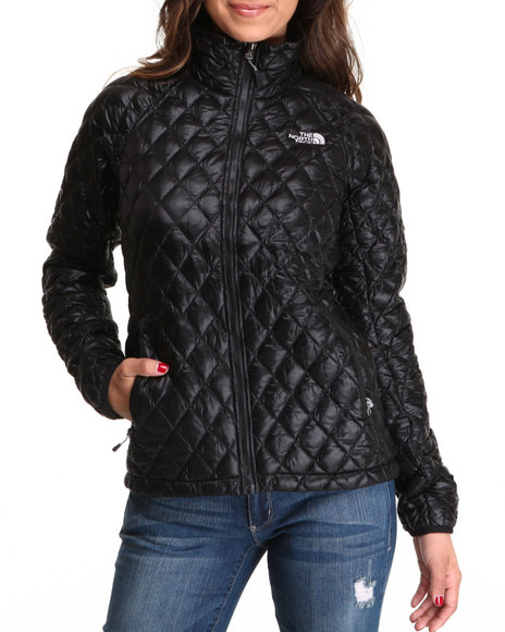 The North Face Black Thermoball Full Zip Jacket
