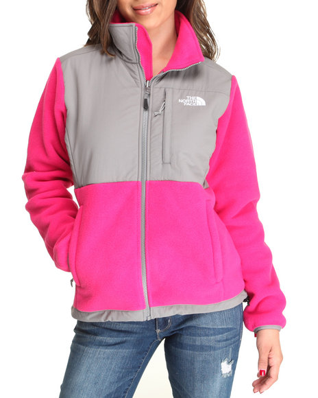 The North Face Pink Denali Jacket