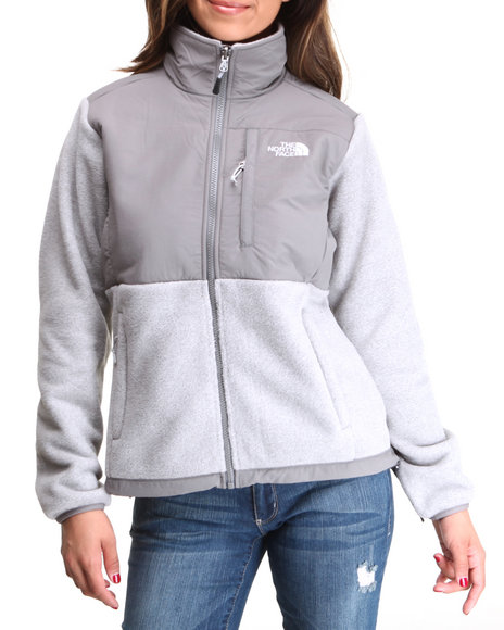 The North Face Grey Denali Jacket