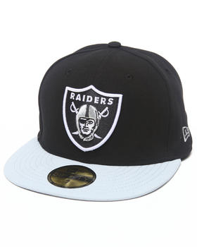 New Era - Oakland Raiders NFL 2013 Black Crown Team 5950 fitted hat