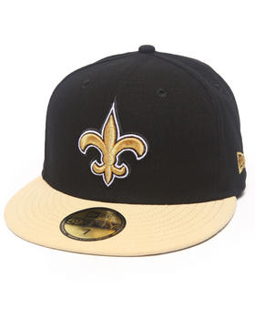 New Era - New Orleans Saints NFL 2013 Black Crown Team 5950 fitted hat