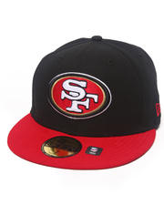 New Era - San Francisco 49ERS NFL 2013 Black Crown Team 5950 fitted hat