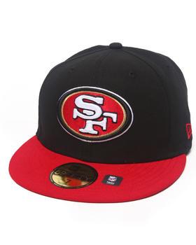 New Era - San Francisco 49ERS NFL 2013 Black Crown Team 5950 fitted hat