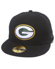 New Era - Green Bay Packers NFL 2013 Black Crown Team 5950 fitted hat