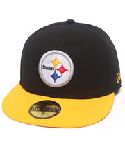 New Era - Pittsburgh Steelers NFL 2013 Black Crown Team 5950 fitted hat