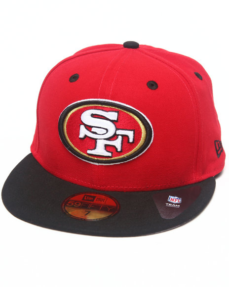 New Era Red Hats