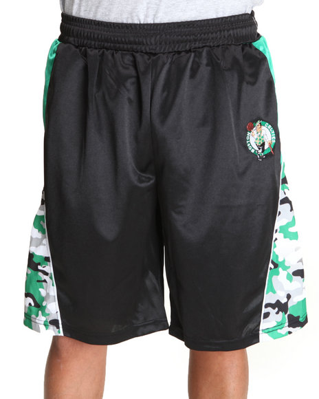 NBA, MLB, NFL Gear - Boston Celtics Warrior Black Shorts