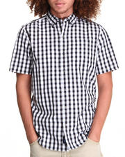 Kid Robot - Melrose Plaid Short Sleeve Woven Shirt