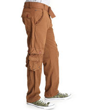 Men - Cargo Pants with Belt