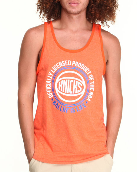 NBA, MLB, NFL Gear - New York Knicks Old School Tank Top (Drjays.com Exclusive)
