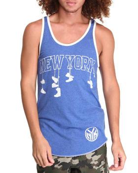 NBA, MLB, NFL Gear - New York Knicks Corner Tank Top (Drjays.com Exclusive)