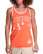 Men - New York Knicks Corner Tank Top (Drjays.com Exclusive)