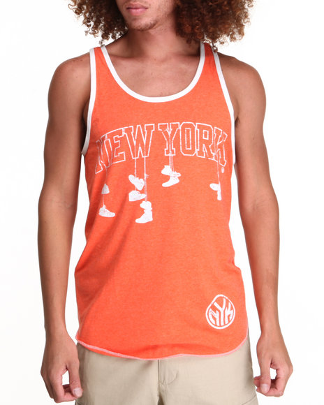NBA, MLB, NFL Gear - New York Knicks Corner Tank Top (Drjays.com Exclusive)