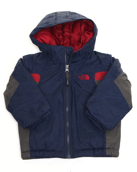 The North Face - Boys Blue Insulated Out Of Bounds Jacket (2T-4T)