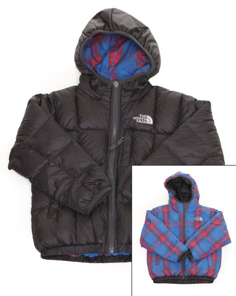 The North Face Boys Grey Reversible Moondoggy Jacket (5-20)