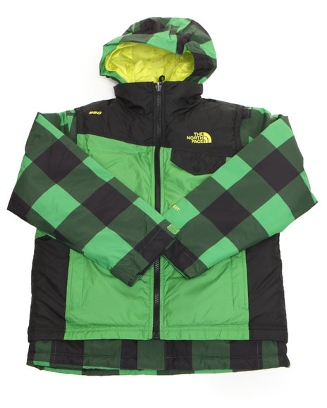 The North Face Boys Green Vestamatic Triclimate Jacket (8-20)