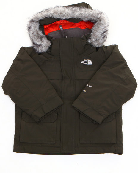 The North Face Boys Olive Mcmurdo Parka (5-20)