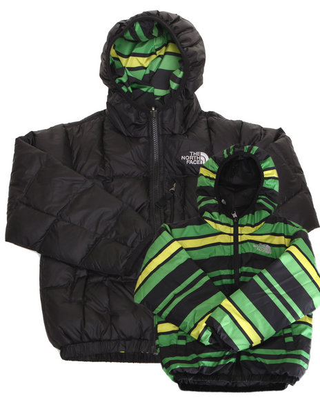 The North Face Boys Black Reversible Moondoggy Jacket (5-20)