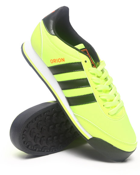 Adidas Yellow Orion Sneakers