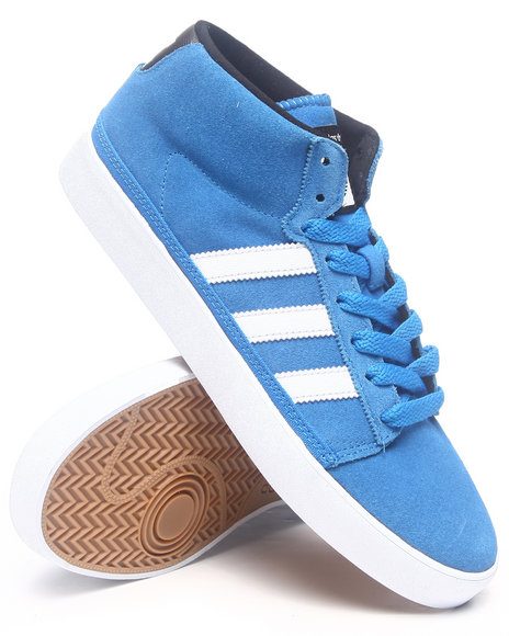 Adidas - Men Blue Rayado Mid Sneakers