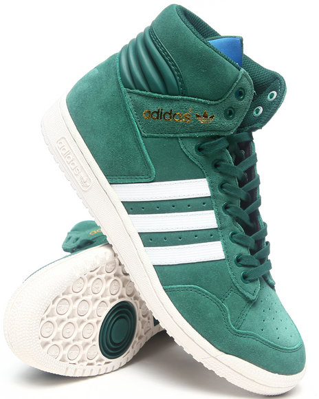 Adidas - Men Green Pro Conference Hi Sneakers - $63.99