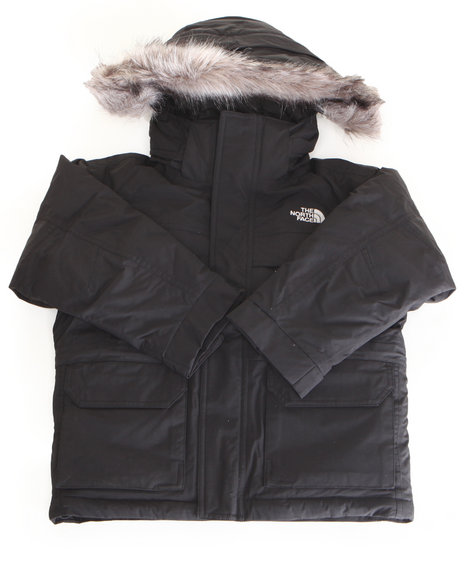 The North Face Boys Black Mcmurdo Parka (5-20)