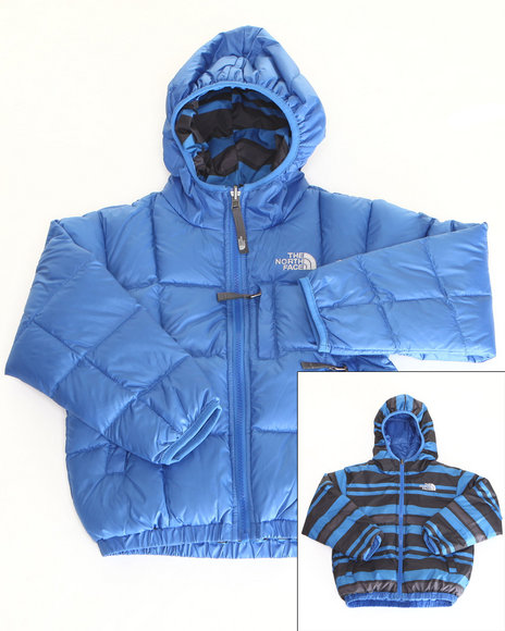 The North Face Boys Blue Reversible Moondoggy Jacket (5-20)