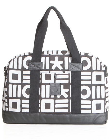 Hex Men Hex X Haze Collection Laptop Duffle Bag Black