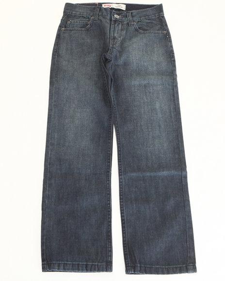 Levi's Boys Dark Wash 514 Eastwood Slim Straight Jeans (8-20)